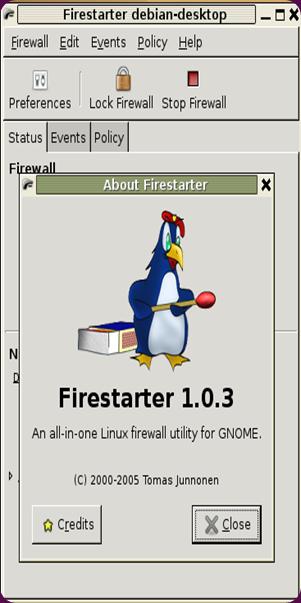 firestarter debian1