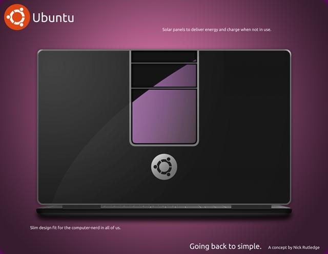 UbuntuLaptopConceptBack