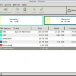 GParted è Ideale per creare lo spazio necessario all'installazione di una distribuzione GNU/Linux.