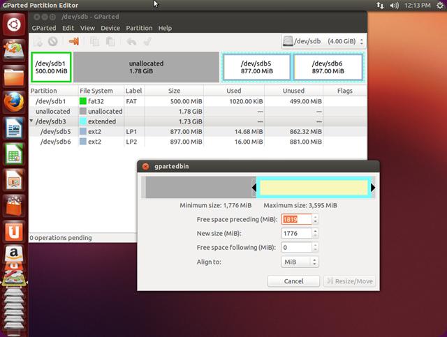 gparted-ubuntu