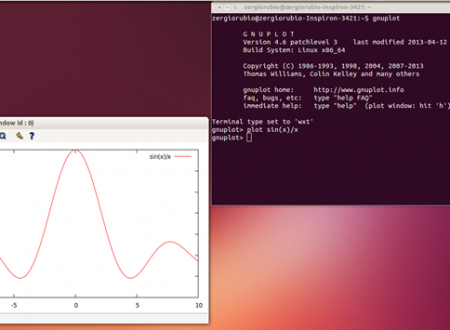 Guida a Gnuplot programma per il disegno di funzioni matematiche in 2D e 3D: Introduzione.