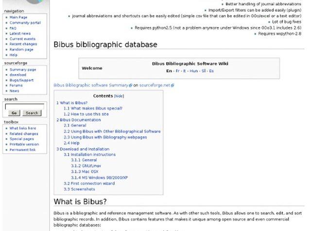 Come creare, modificare e ordinare i propri record bibliografici con Bibus.