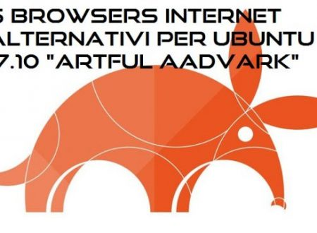 "5 Browsers Internet alternativi da installare in Ubuntu 17.10 ""Artful Aadvark"""