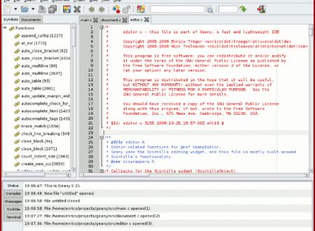 30 Editori di Testo per Ubuntu con schede complete e istruzioni per il download.