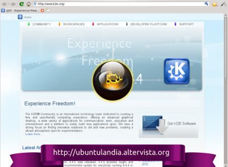 Rekonq è un browser davvero molto ben strutturato, oltre ad essere molto leggero e veloce.