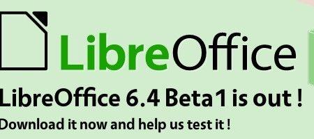 LibreOffice 6.4 entra in fase beta